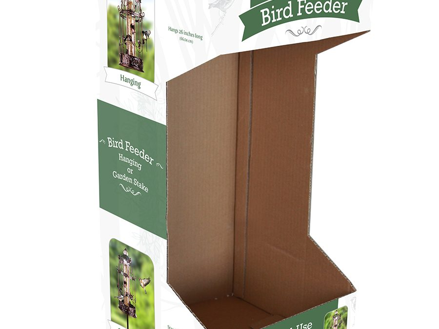 Exhart Bird Feeder Packaging